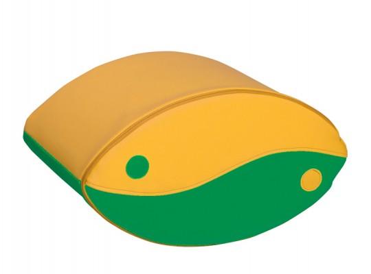 Blok houpací-žlutý/zelený-malý