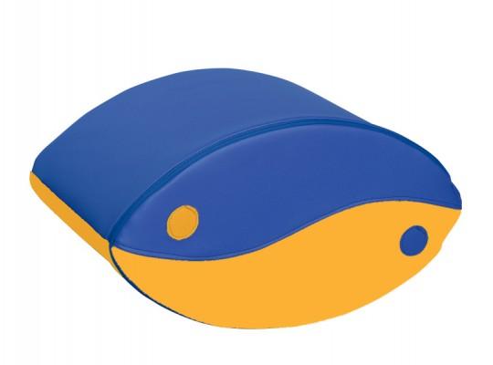 Blok houpací-modrý/žlutý-velký