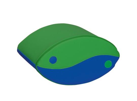 Blok houpací-zelený/modrý-malý