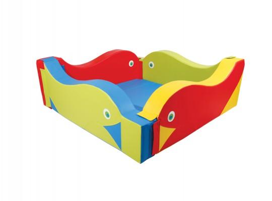 Bazén z PUR pěny-akvárium