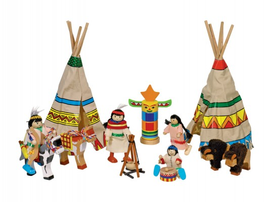 Vesnice indiánská