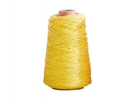 Příze bavlněná-žlutá