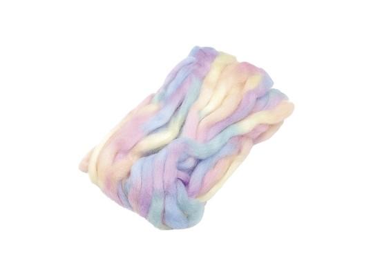 Vlna ovčí melírovaná-pastelová