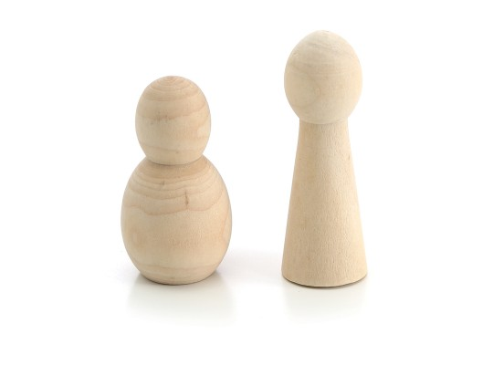 Figurka dřevěná-malá