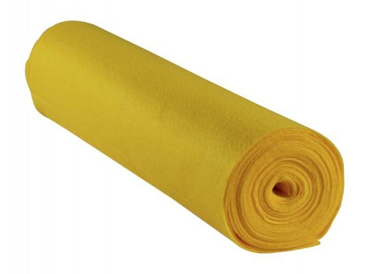 Filc v roli-žlutý-1mm/500x45cm