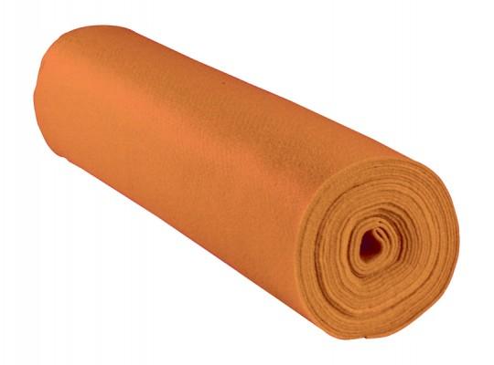 Filc v roli-oranžový-1mm/500x45cm