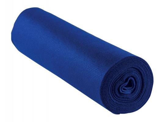 Filc v roli-modrý tmavý-1mm/500x45cm