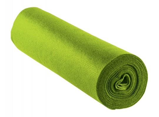 Filc v roli-zelený světlý-1mm/500x45cm