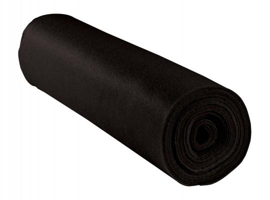 Filc v roli-černý-1mm/500x45cm