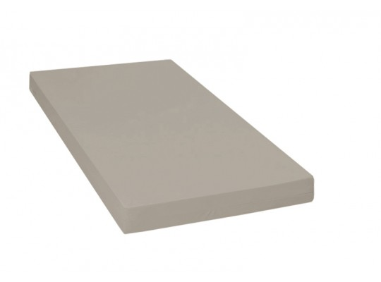Matrace dětská-PUR pěna-130x60x10cm-PU210 šedá světlá/protiskluz