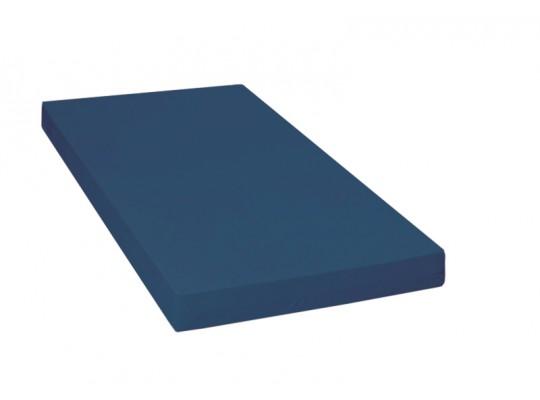 Matrace dětská-PUR pěna-130x60x10cm-PU210 modrá tmavá/protiskluz