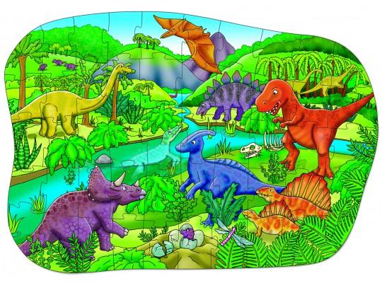 BIG Puzzle-Dinosaur