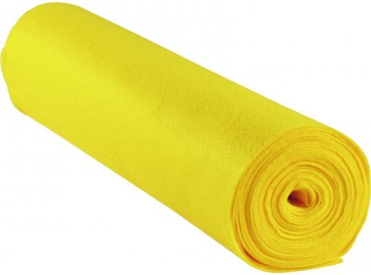 Filc v roli-žlutý světlý-1mm/500x45cm