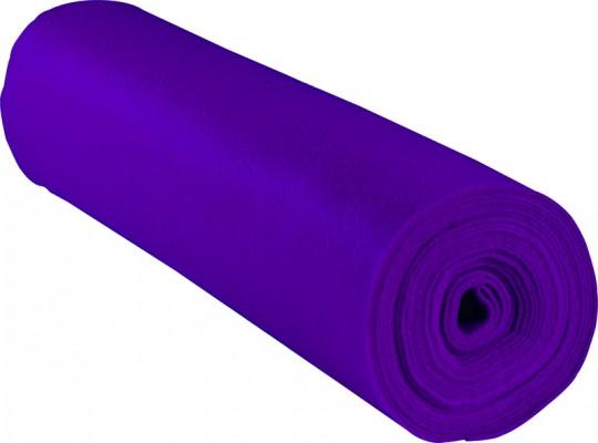 Filc v roli-fialový-1mm/500x45cm