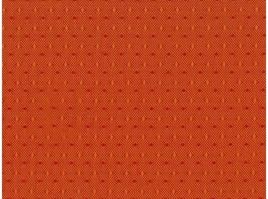 Látka potahová-polyester-š.140cm-Ramon-oranžová tmavá