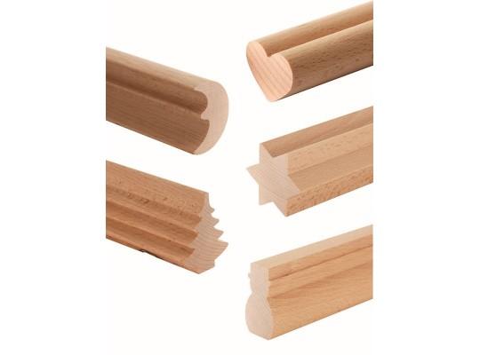 Lišta profilová dřevěná-d45cm-Vánoce