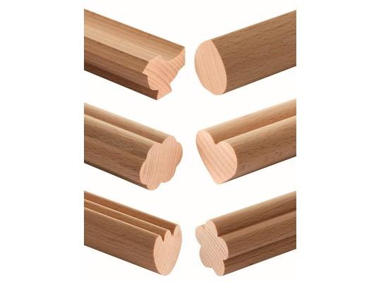 Lišta profilová dřevěná-d45cm-jaro