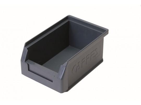 Box úložný plastový-16x10,5x7,5cm-šedý
