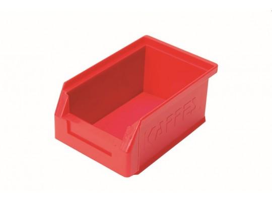 Box úložný plastový-16x10,5x7,5cm-červený