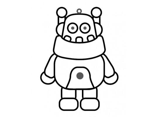 Sklíčko závěsné-kontura-robot 3