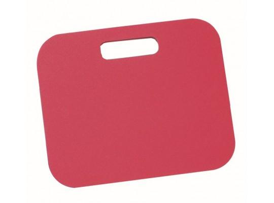 Podsedák pěnový s rukojetí-34x28x1cm-červený
