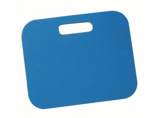Podsedák pěnový s rukojetí-34x28x1cm-modrý