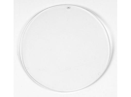 Sklíčko závěsné hladké-kruh