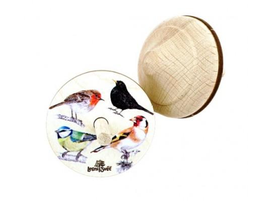 Káča dřevěná-ptáci