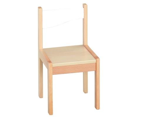 Kuchyň dětská židle-28cm-dekor bříza