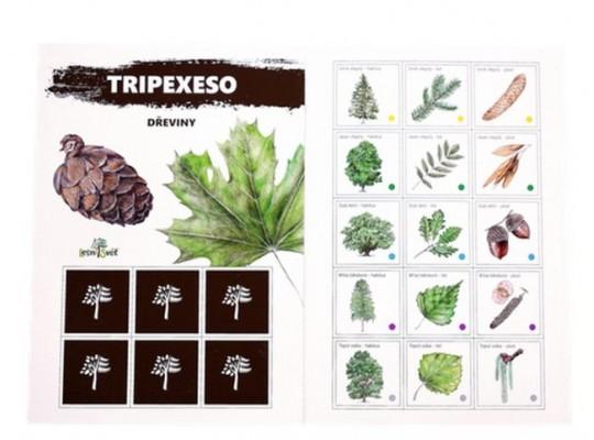 Tripexeso z papíru-dřeviny