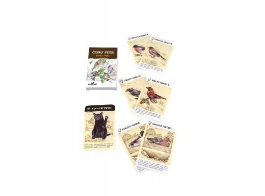 Karty hrací-Černý Petr-Ptáci