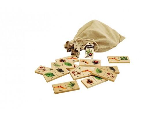 Domino dřevěné-naučné/edukativní-dřeviny lesní