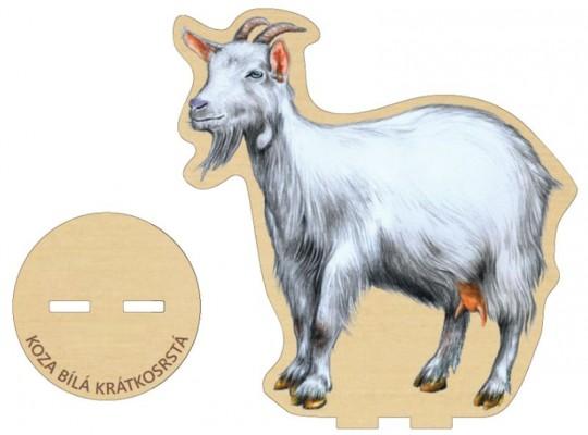 Deska z překližky-tvar vylamovací-Koza