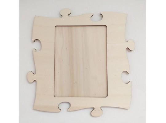 Fotorámeček puzzle-1 obrázek-21x21cm/11,5x16cm