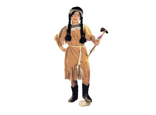 Kostým-Indiánka-šaty/opasek-vel.116