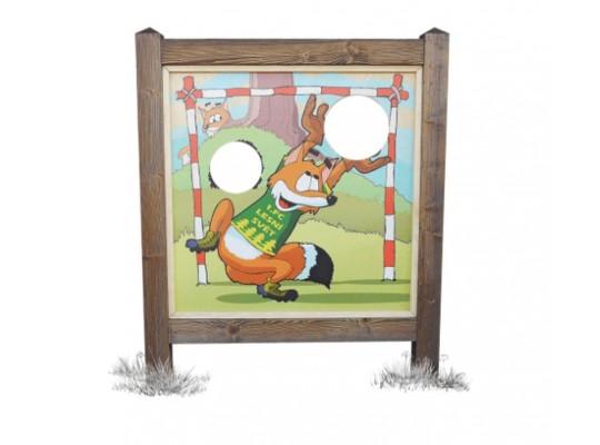 Prohazovadlo dřevěné-sport-Lišák