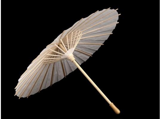 Deštník z papíru-pr.38,5cm-k domalování